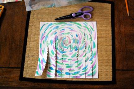 Paper Weaving cut