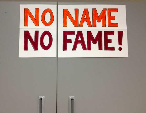 no-name-no-fame