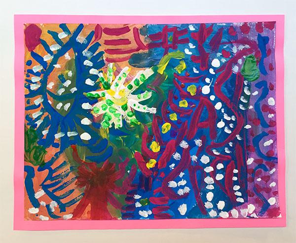 Heart, inspired by artist Jim Dine