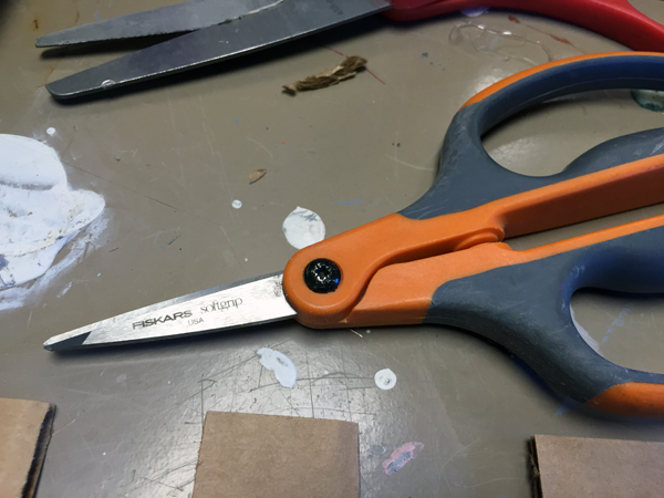 These scissors are the best to use for intricate cuts.