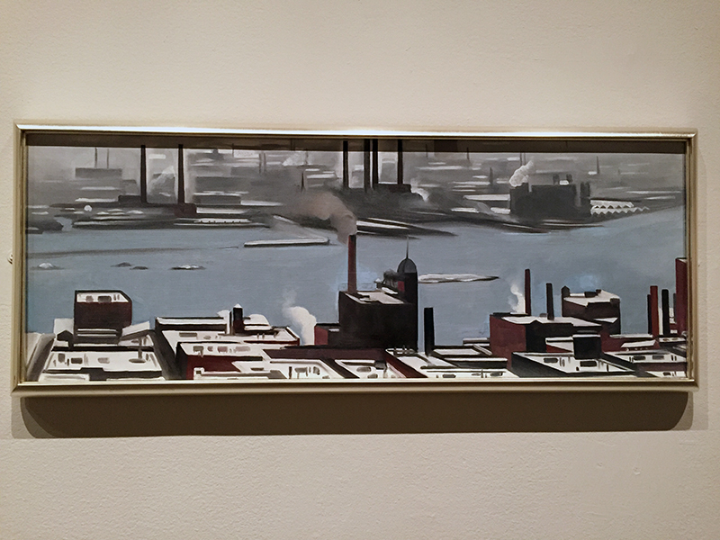 East River from the Shelton Hotel, 1928