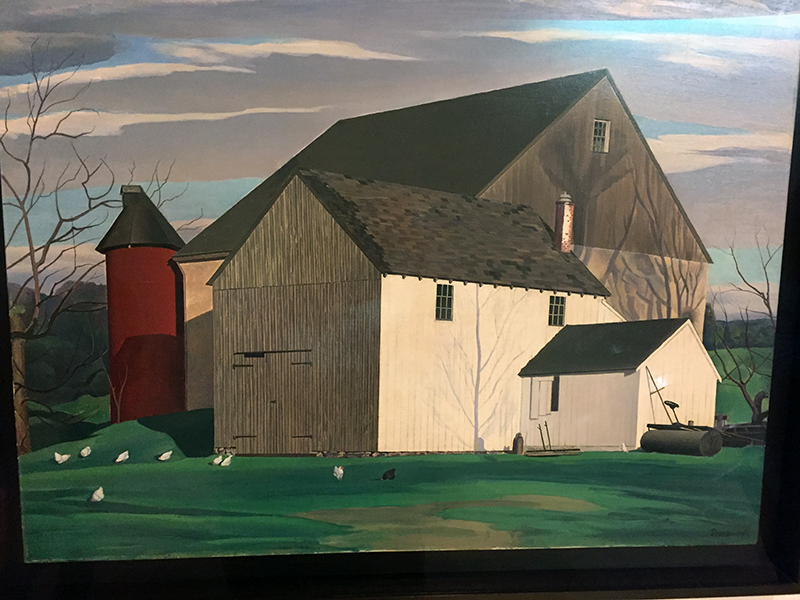 Bucks County Barn, 1932