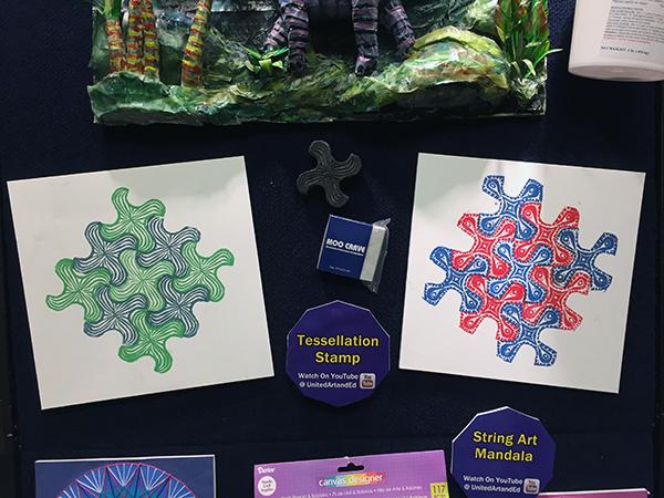tessellation stamps