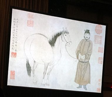 Adding seals of inscription & ownership began early in Chinese painting