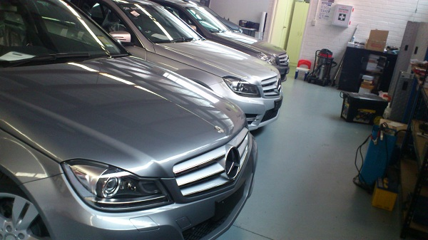 Mercerdes Benz C-Class range by Automotive Integration.