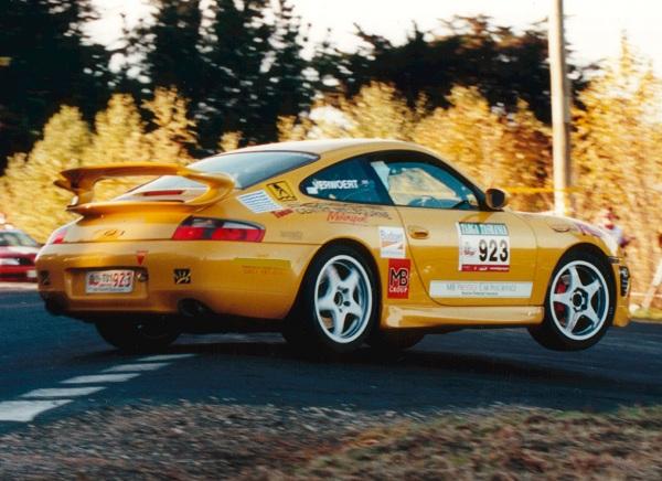 Targa Tasmania 2001 to 2004