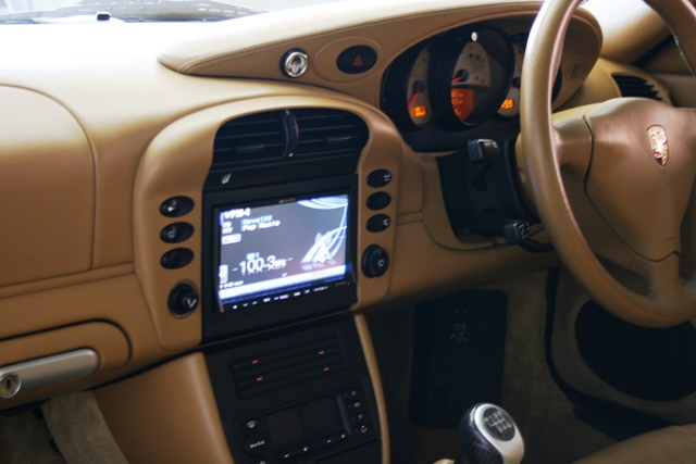The easy to read display means your eyes spend more time on the road and less time on the radio.