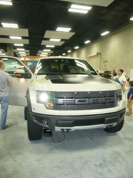 The Ford Raptor. A supercharged V8off-roadmonster.
