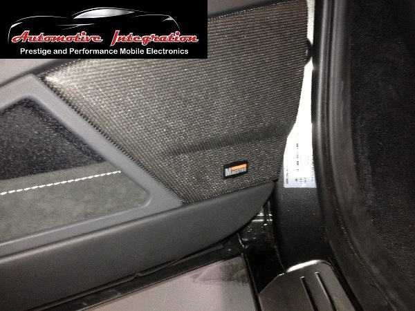 The reassembled door hides the all new German Maestro component speakers.