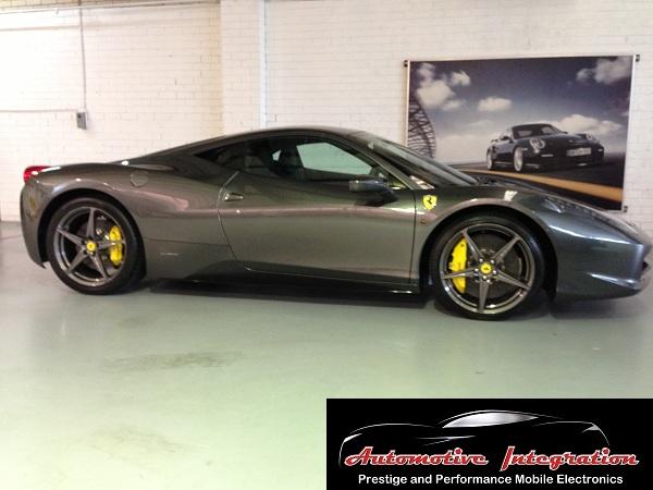 The awesome Ferrari 458 Italia.