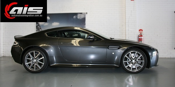 An Aston Martin Vantage protected with MAPS.