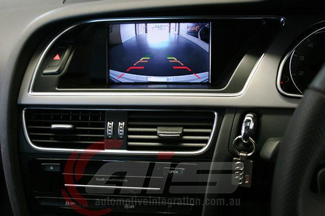 The camera integrates into the factory MMI screen