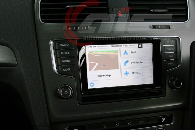 The IGO Primo navigation platform functions flawlessly through the factory touch screen    .