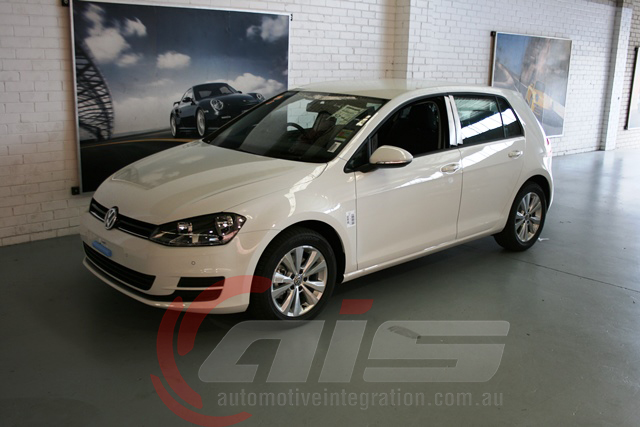 The new VW Golf 7.