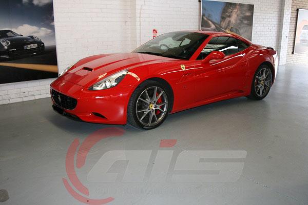 The Ferrari California.
