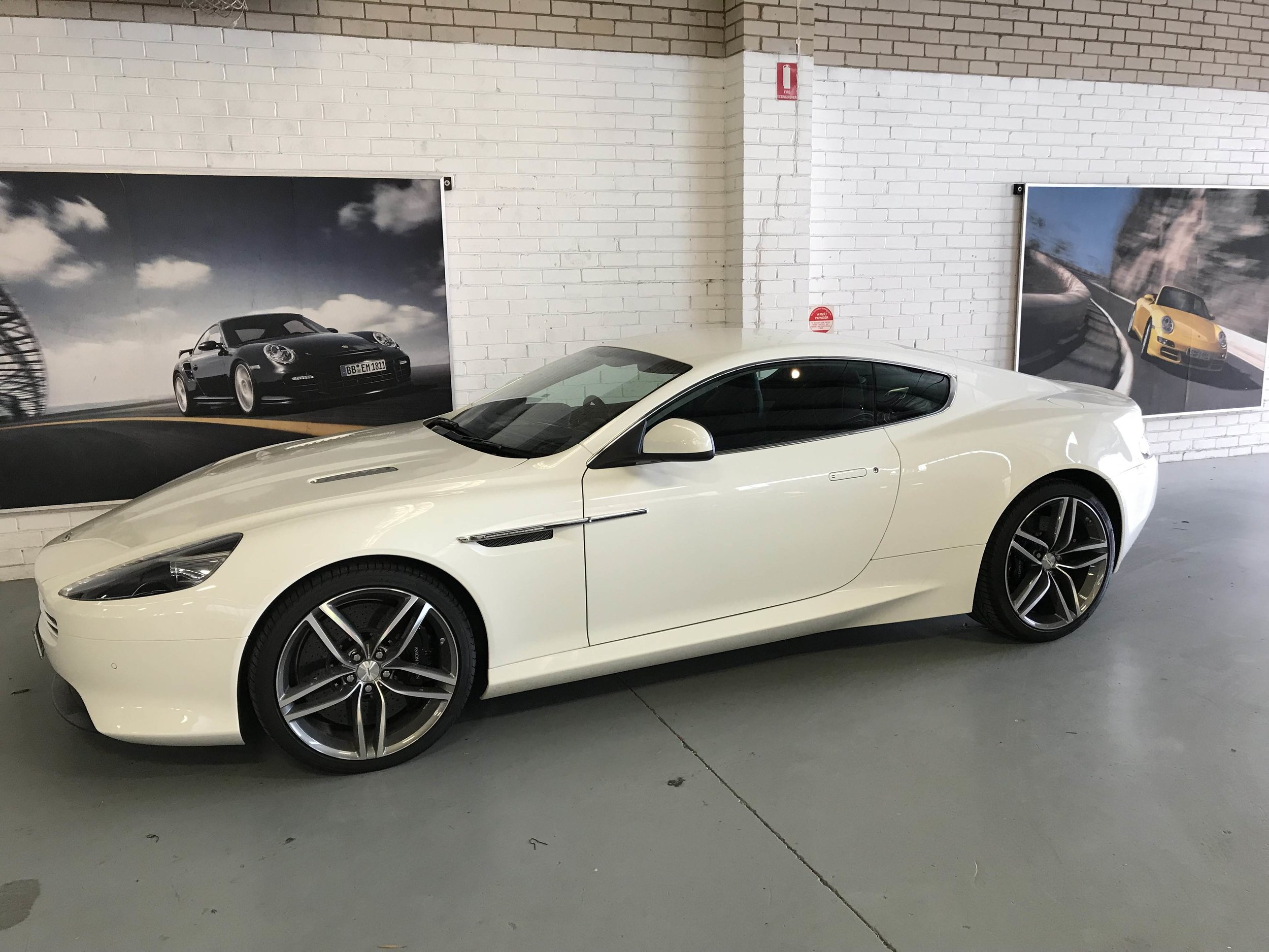 The simply gorgeous Aston Martin Virage