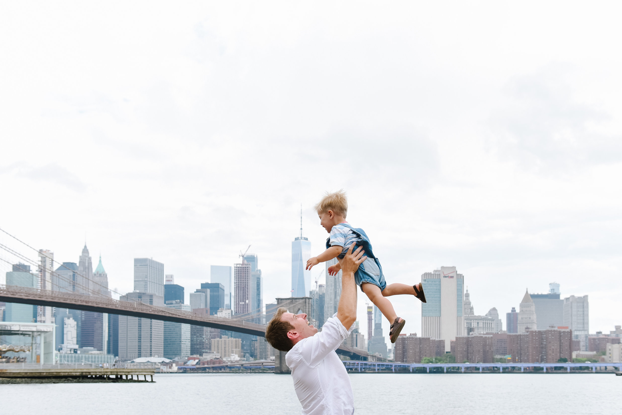 DUMBO Brooklyn family photographer