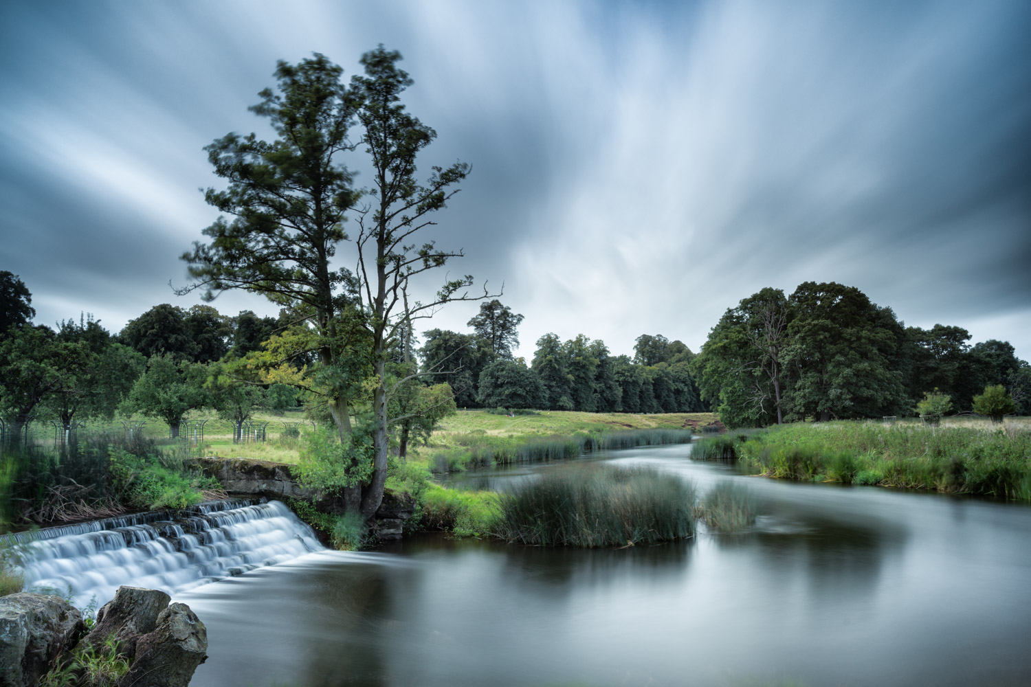 charlecote - using a 10 stop neutral density filter