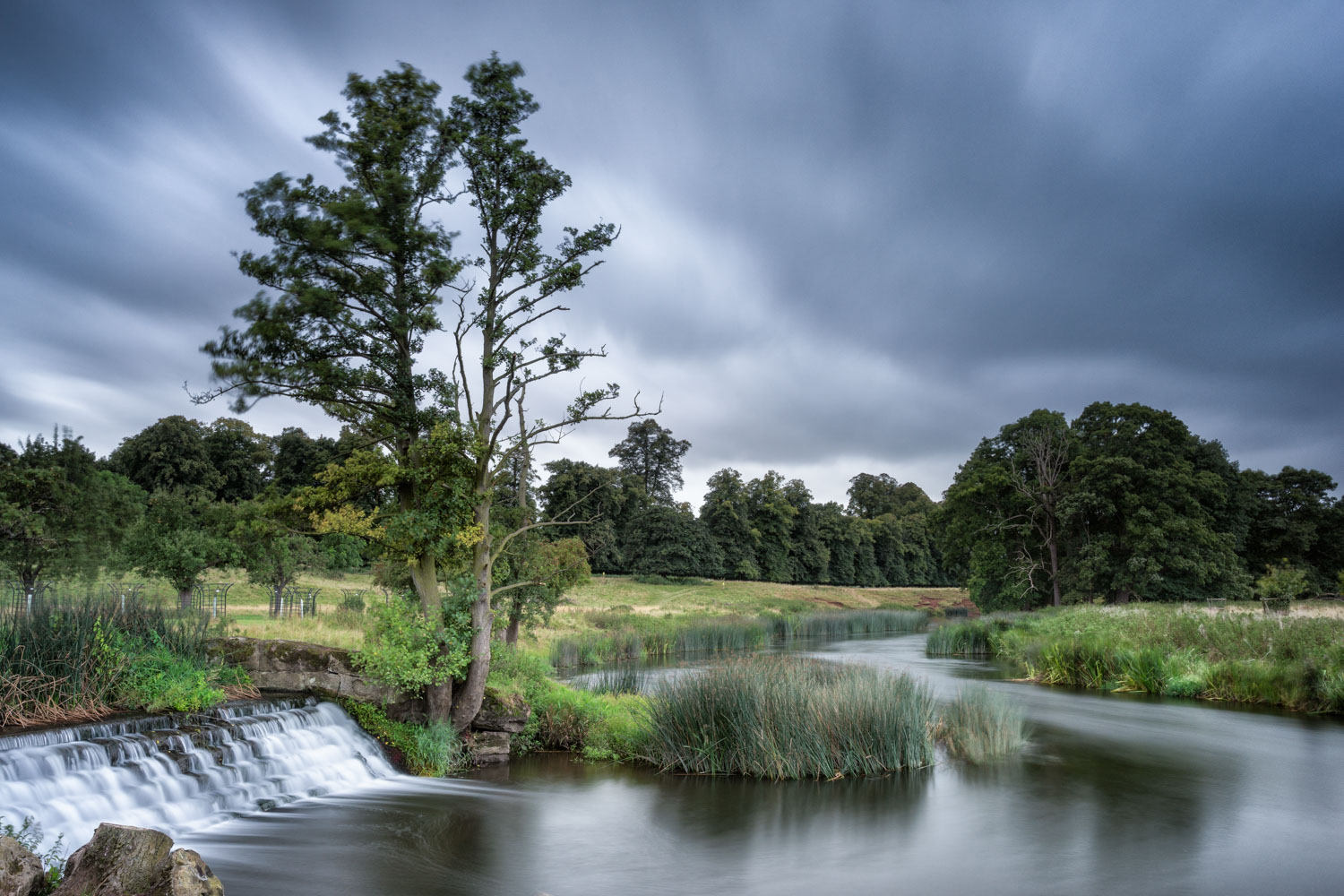 Charlecote weir with the Little Stopper ND filter