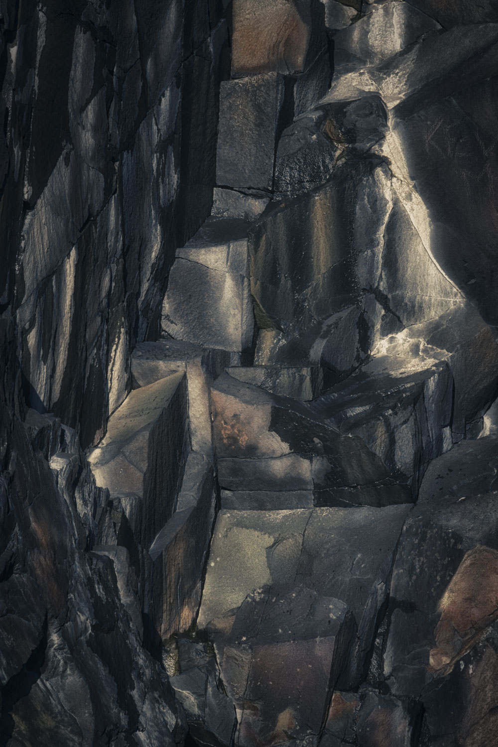 Rock formations - Northumbria