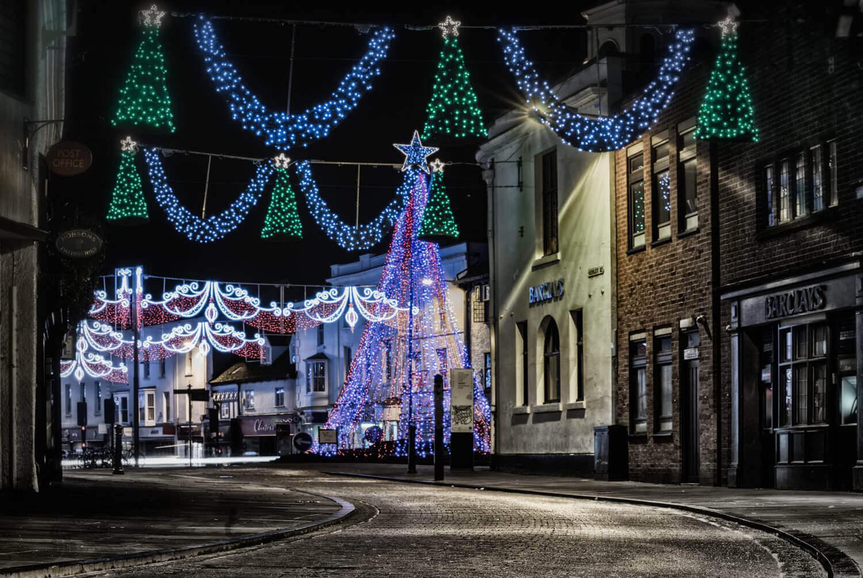 Christmas Sparkle - Leamington or Stratford - Evening Lights & Architecture Workshop