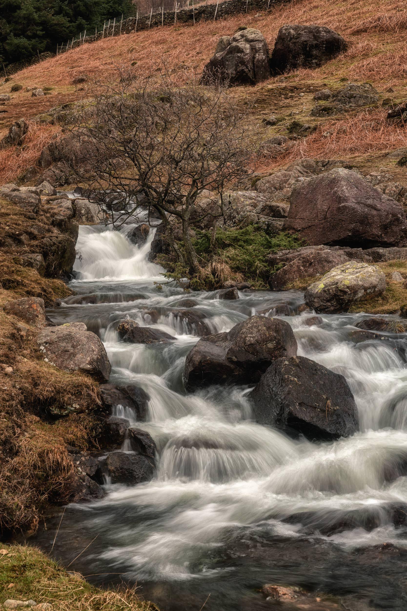 Ble Tarn Waterfalls
