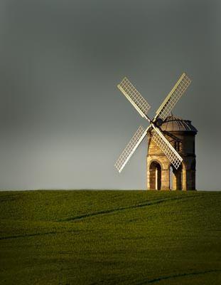 My first ever shot of Chesterton Windmill - Jun 2009