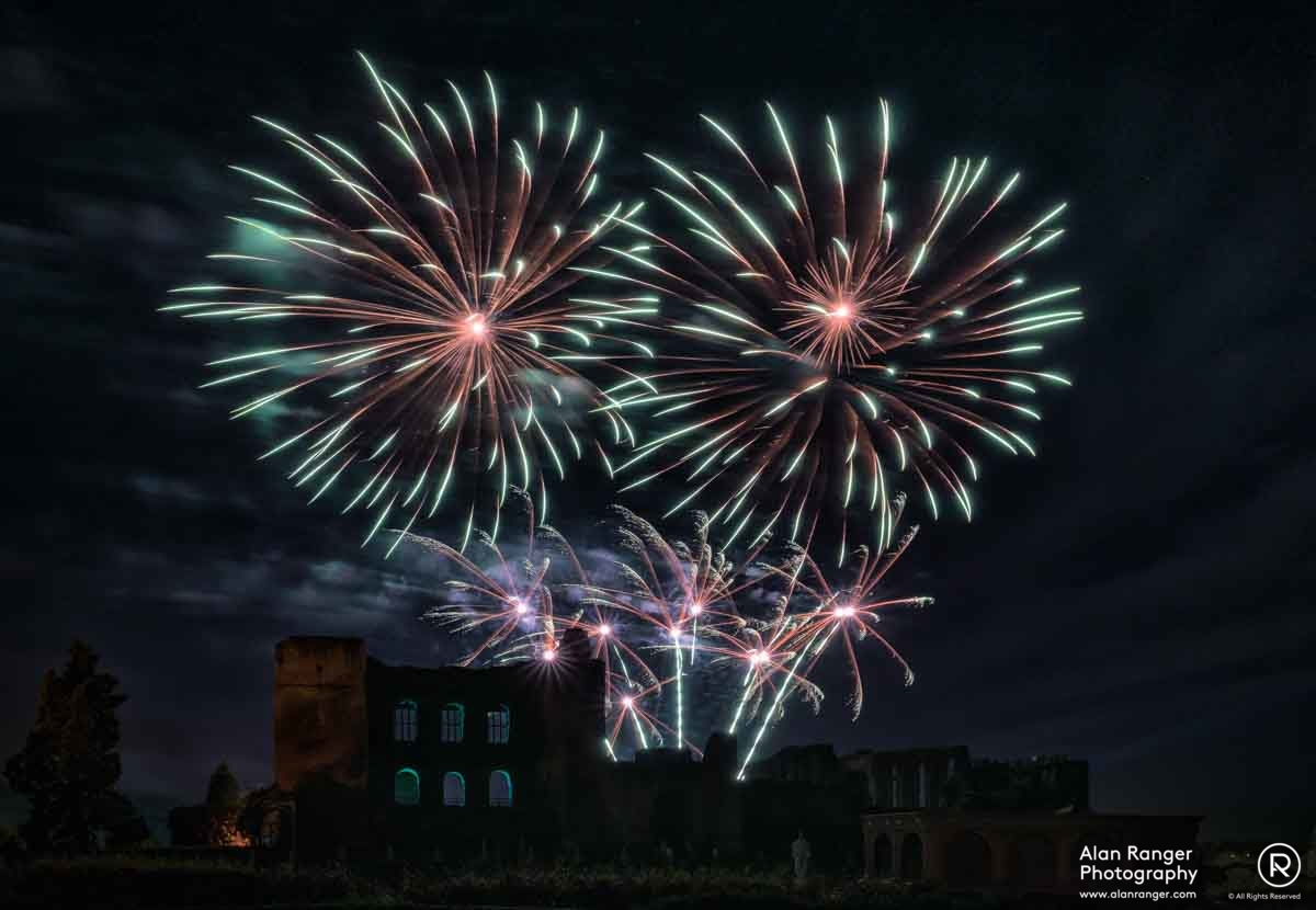 Kenilworth Fireworks 2017 - 1