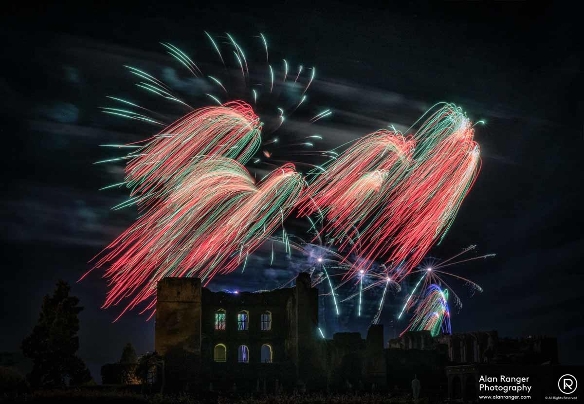Kenilworth Fireworks 2017 - 2