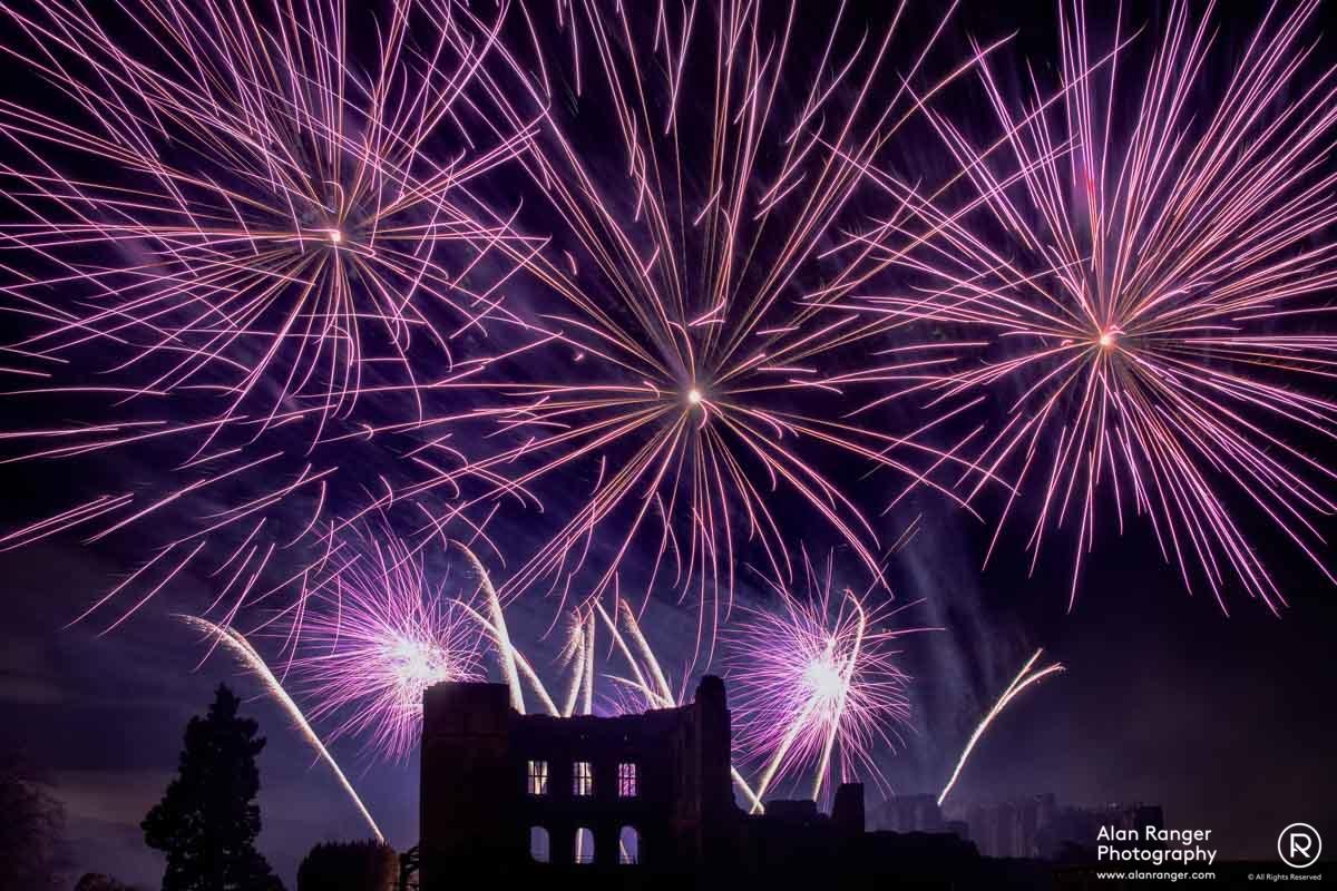 Kenilworth Fireworks 2014-1