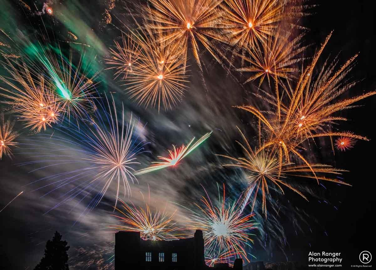 kenilworth Fireworks 2014-5
