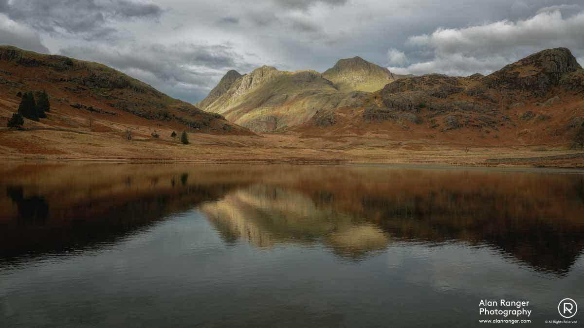 blea tarn reflection 2