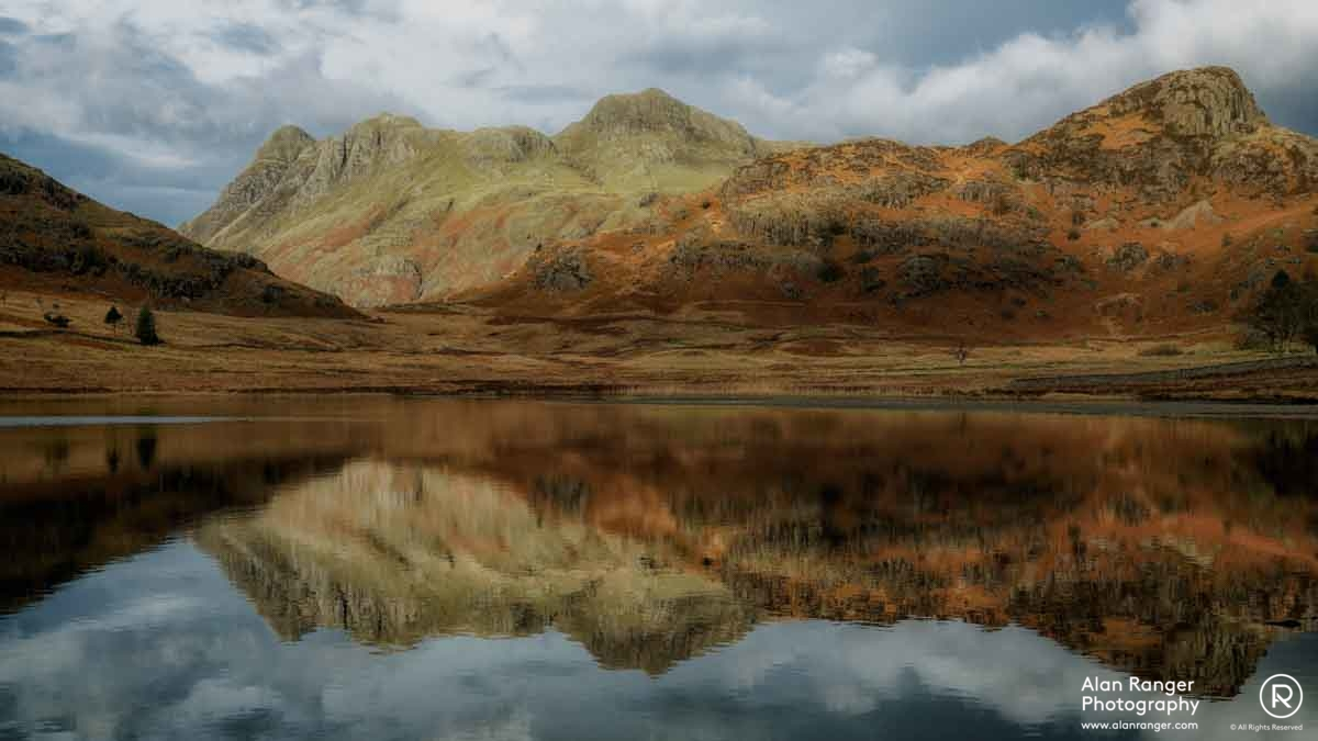 blea tarn reflection