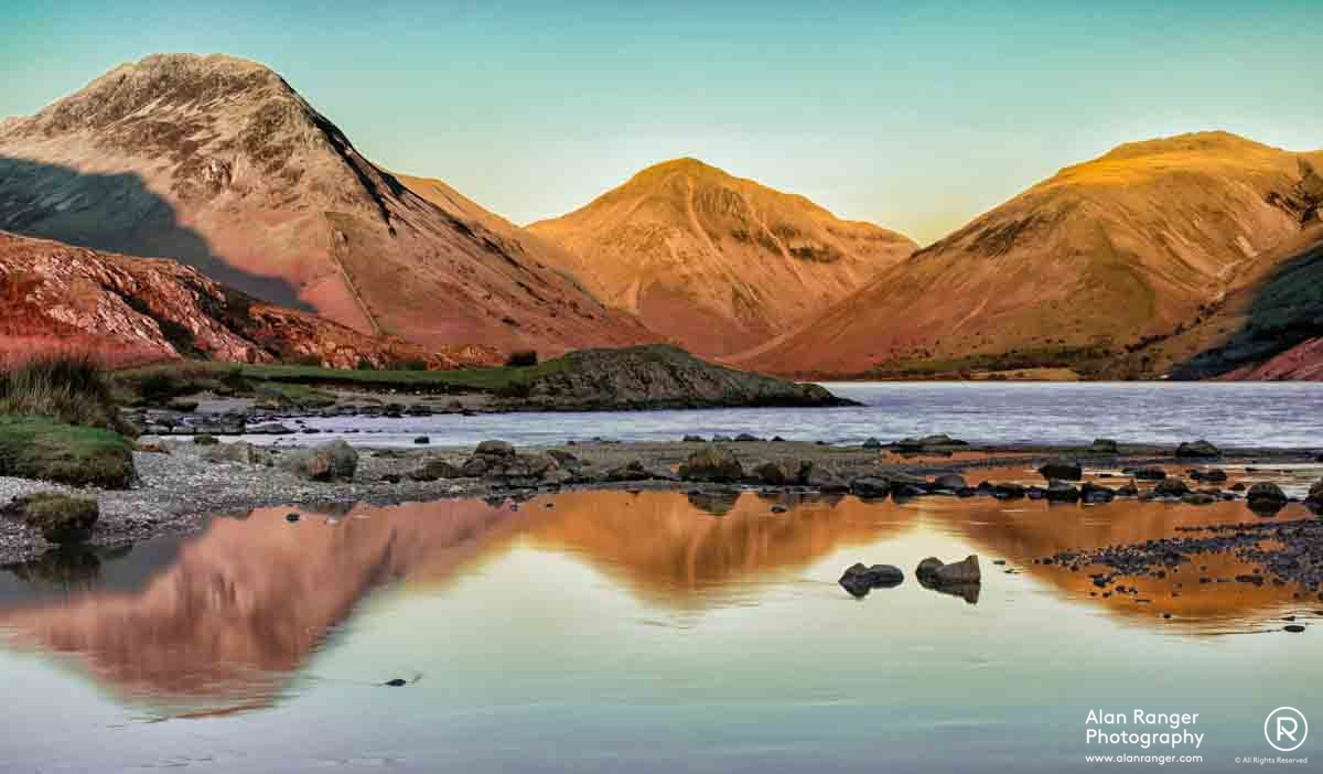 wast water dusk