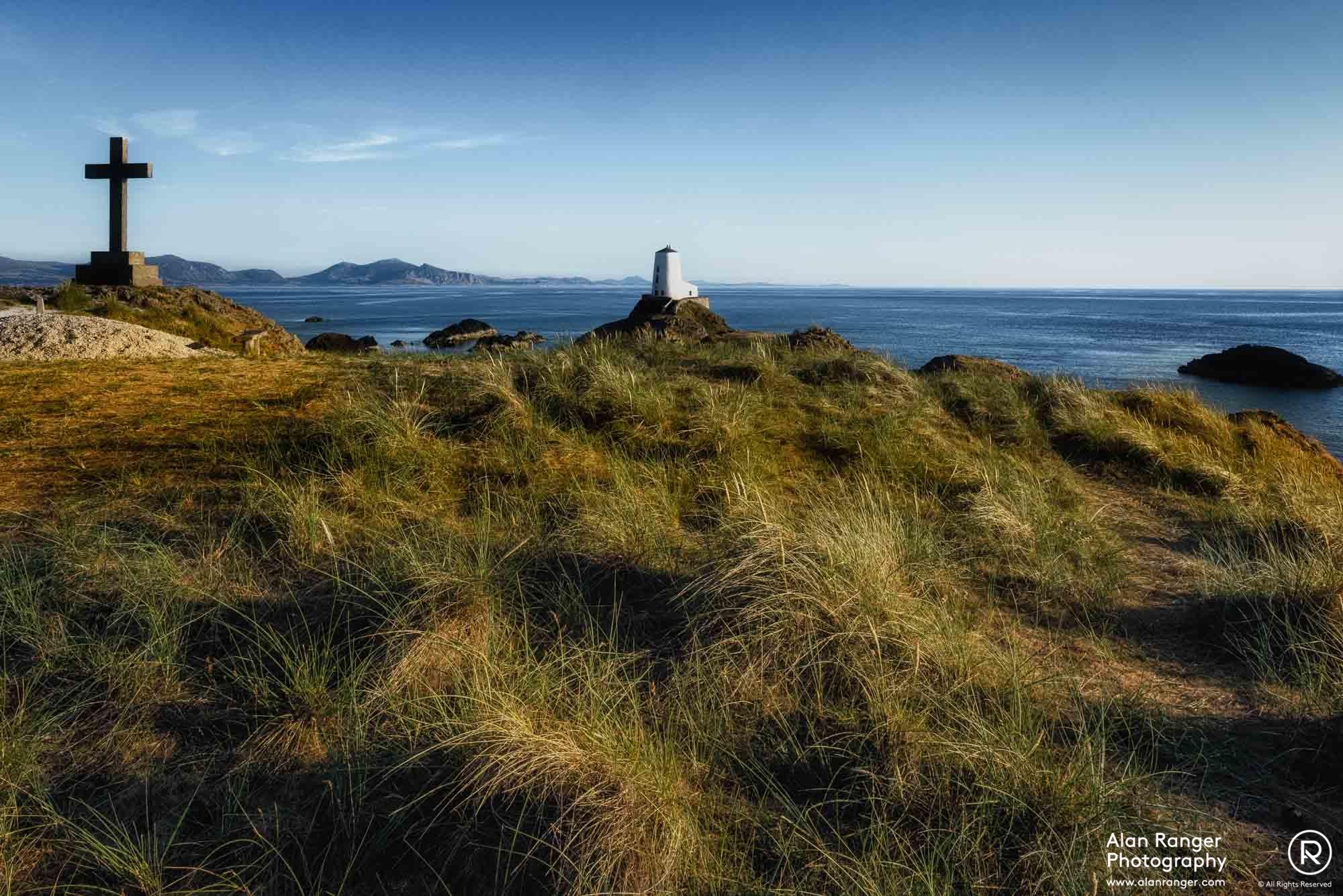 Llanddwyn Lighthouse + Cross