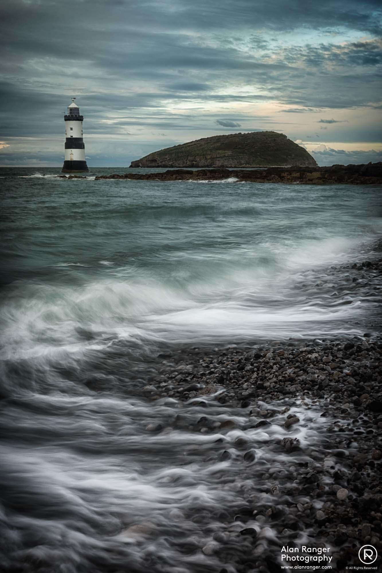 Penman Point Trwyn Du Lighthouse