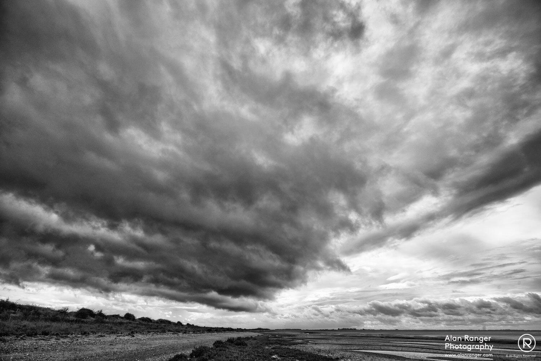 Snettisham Storm Clouds
