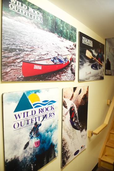Posters from Wild Rock's early years