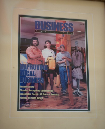 Cover of the July 1997 issue of Business Advantage