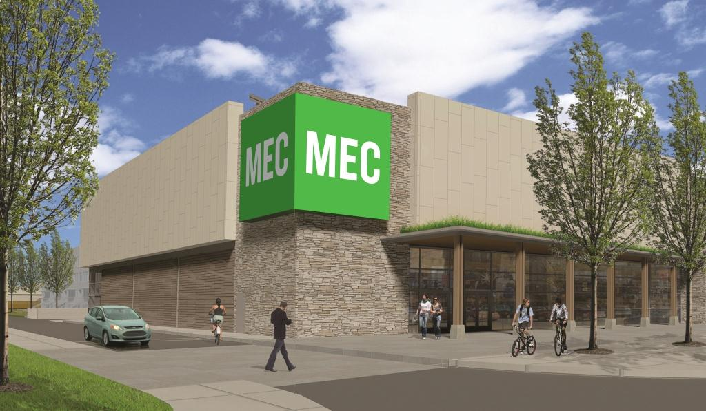 North York store rendering by MEC