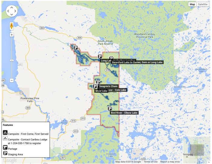 Plan Your Canoe Route Through Nopiming Provincial Park