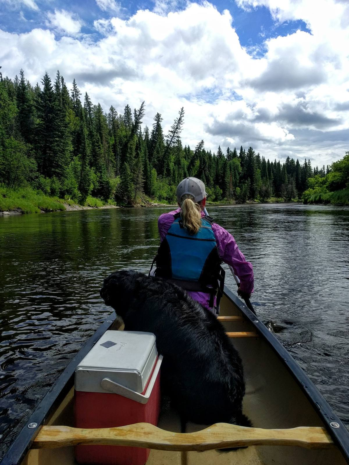 Dave Rempel - Day tripping on the Torch River, northern Saskatchewan