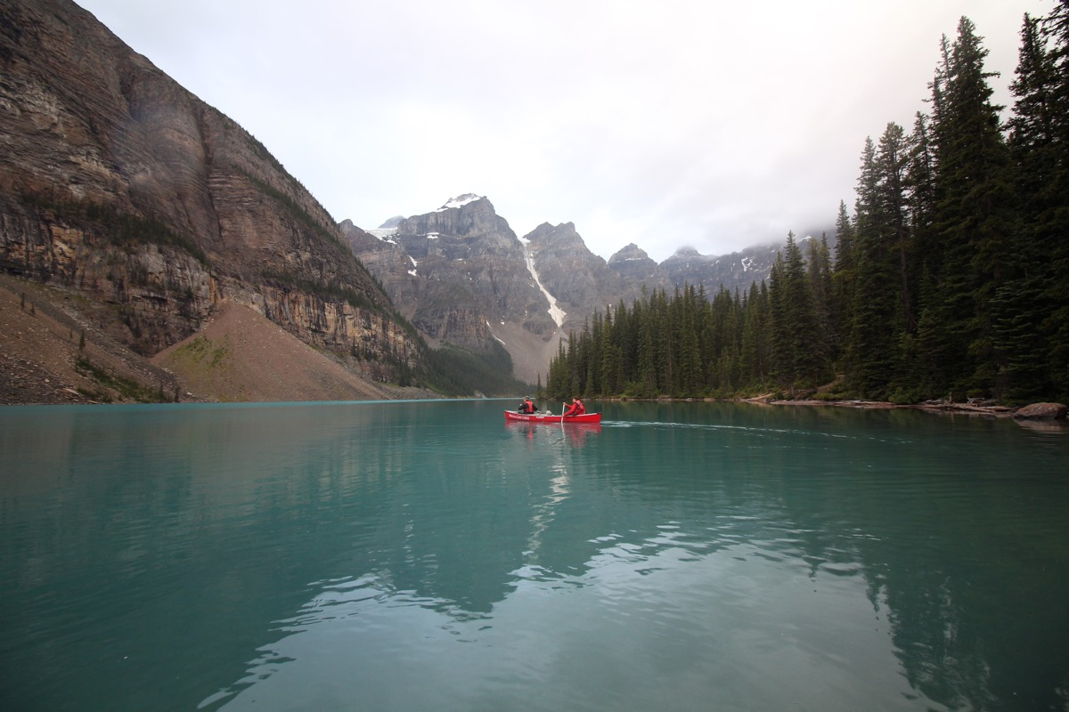 Connor Merrick - Moraine Lake in Alberta