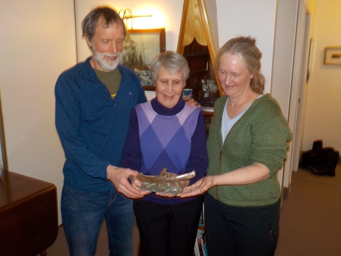 Paul, Joyce and Becky Mason