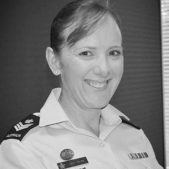 Flight Sergeant Tanya Fraser represents the hundreds of cadets, sailors, soldiers, airmen and officers whose professionalism, kindness and patience have taught me and others about the privilege of leadership during my 30+ years of involvement in military organisations.