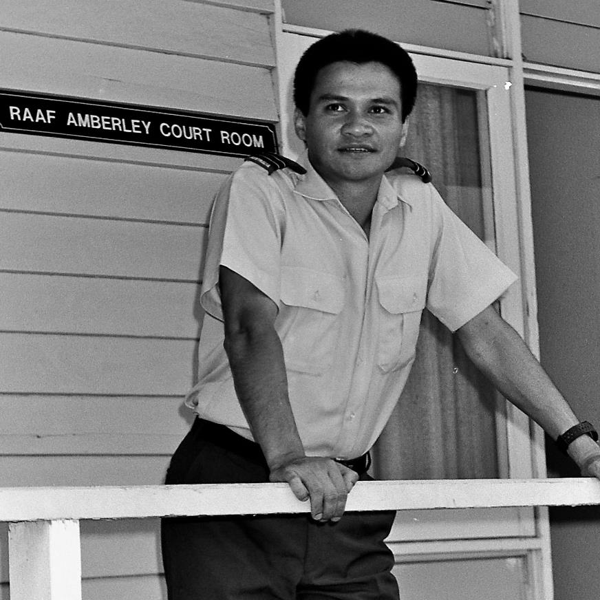 Flight Lieutenant Michael Kar, Base Legal Officer RAAF Base Amberley. The bravest Legal Officer and lawyer I knew. His integrity and determination to give fearless legal advice were rare among officers who depended on their superiors for good postings and promotions - both of which were largely denied Michael.