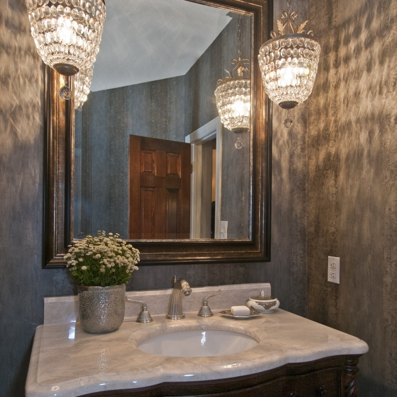 Powder Room, photo by Laurie Allegretti