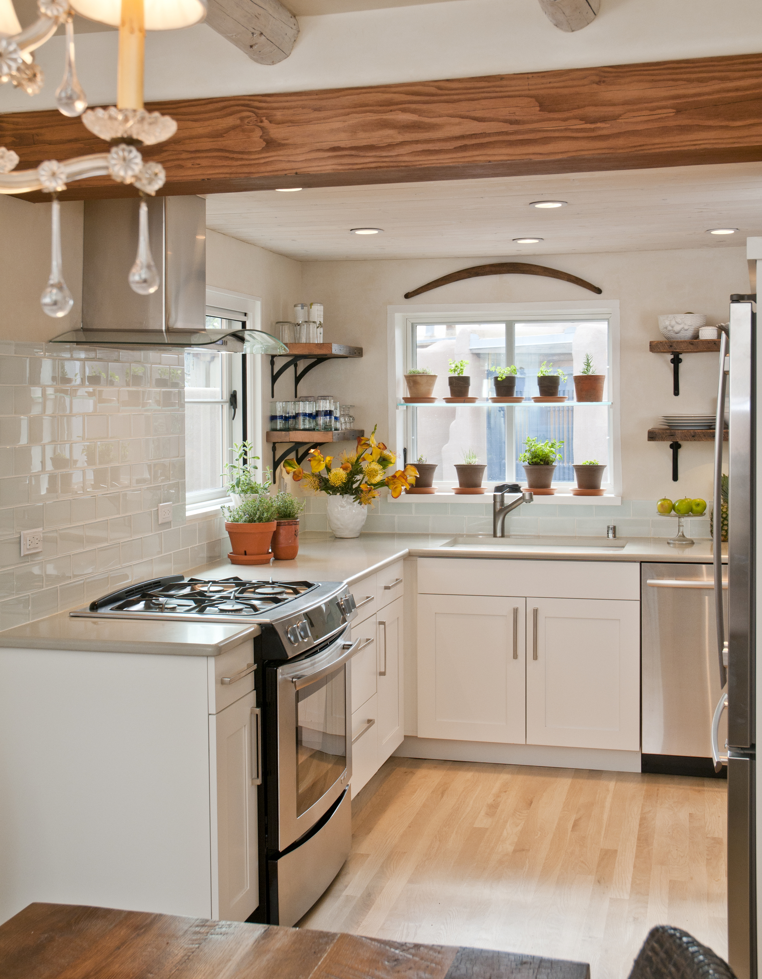 Santa Fe Historic Cottage Kitchen- photo by Laurie Allegretti.jpeg