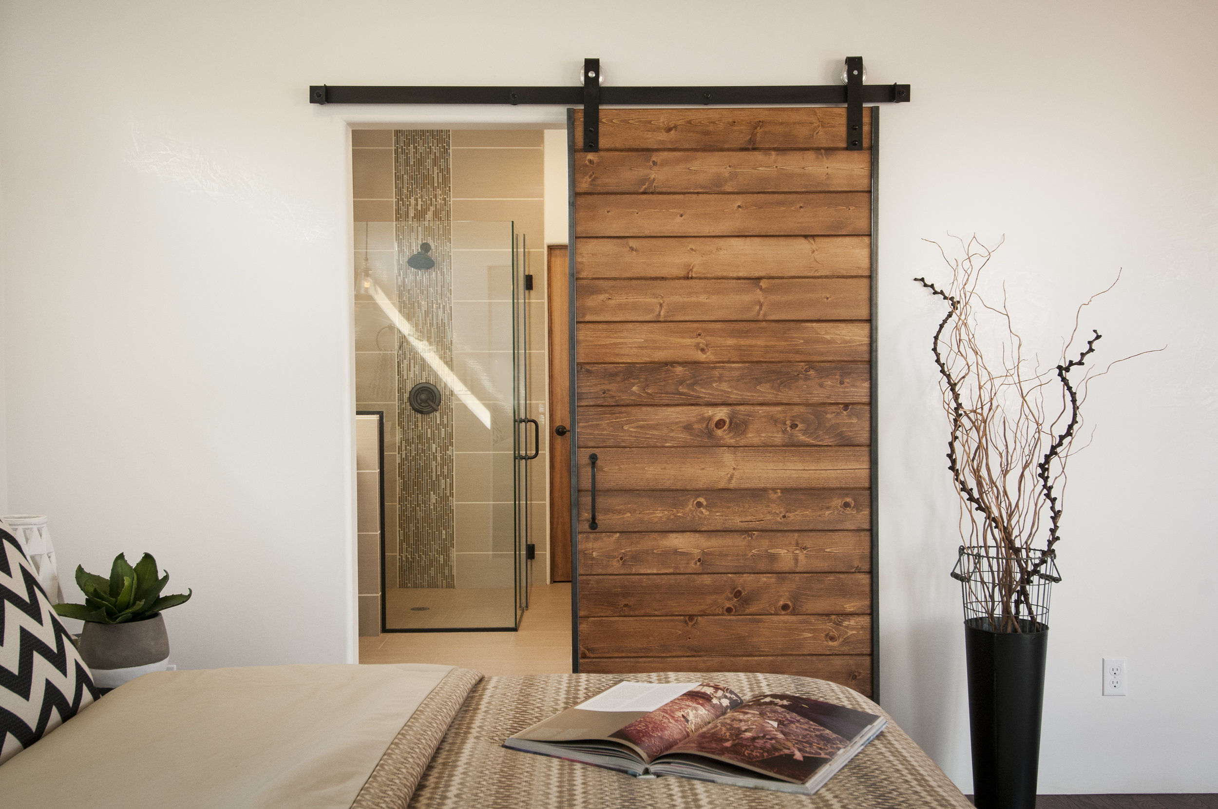 Santa Fe Barn Door Design by Jennifer Ashton