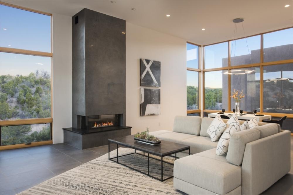 Santa Fe Living Room Interior Design